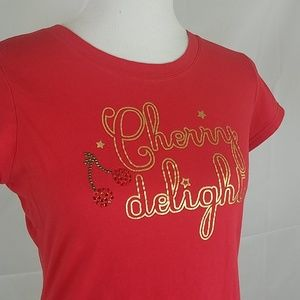 Victoria's Secret red cherry delight shirt